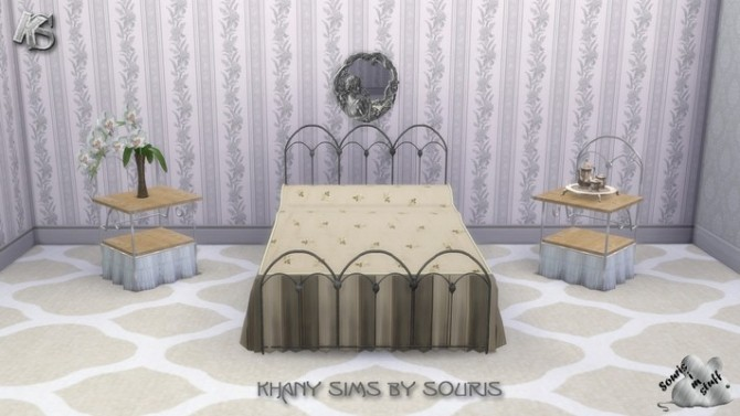 Sims 4 Bedroom Iron by Souris at Khany Sims