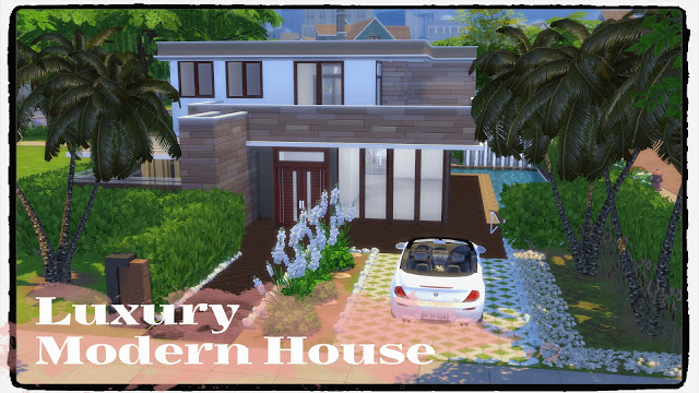 Luxury Modern House at Dinha Gamer image 1202 Sims 4 Updates