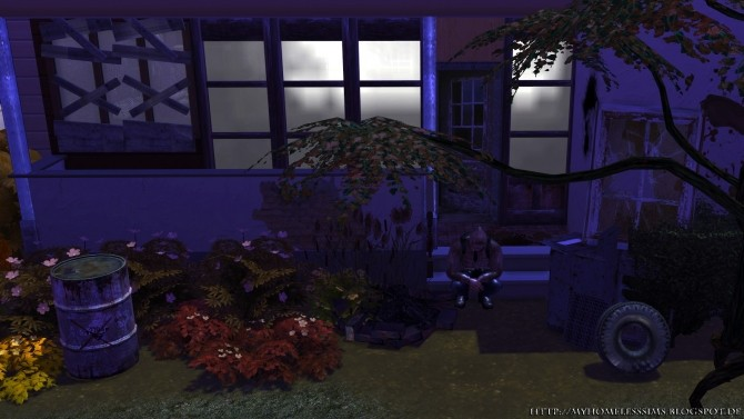 The Decay (Grunge Starter) at Homeless Sims image 1206 670x377 Sims 4 Updates