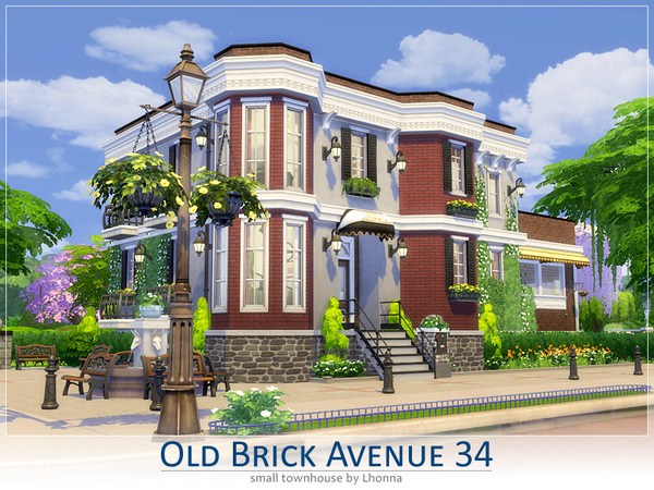 Old brick avenue 34 the red dwarf house by lhonna at tsr for Classic house sims 4