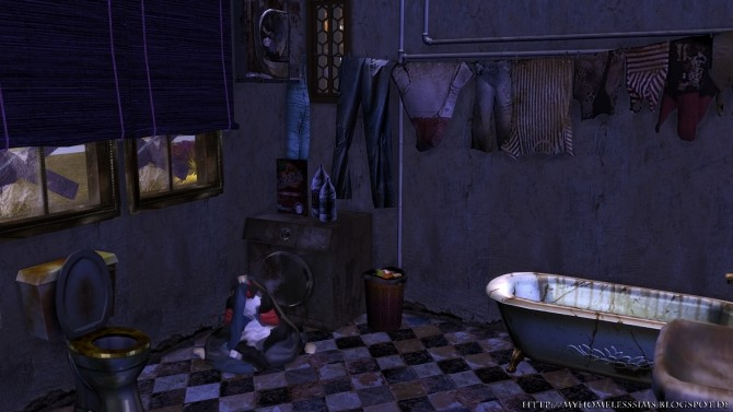 The Decay (Grunge Starter) at Homeless Sims image 12110 670x377 Sims 4 Updates