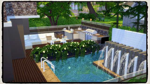 Luxury Modern House at Dinha Gamer image 1222 Sims 4 Updates