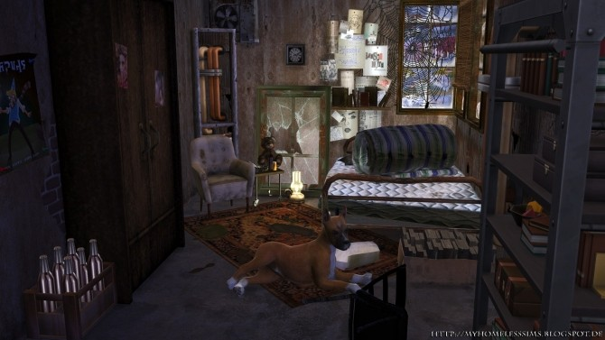 The Decay (Grunge Starter) at Homeless Sims image 1225 670x377 Sims 4 Updates