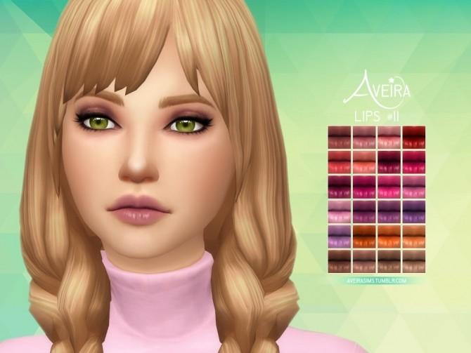 Sims 4 Lips #11 at Aveira Sims 4