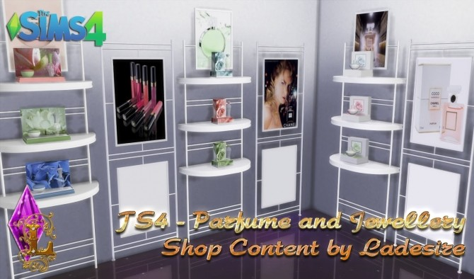 Parfume and Jewellery Shop Content at Ladesire image 12513 670x394 Sims 4 Updates