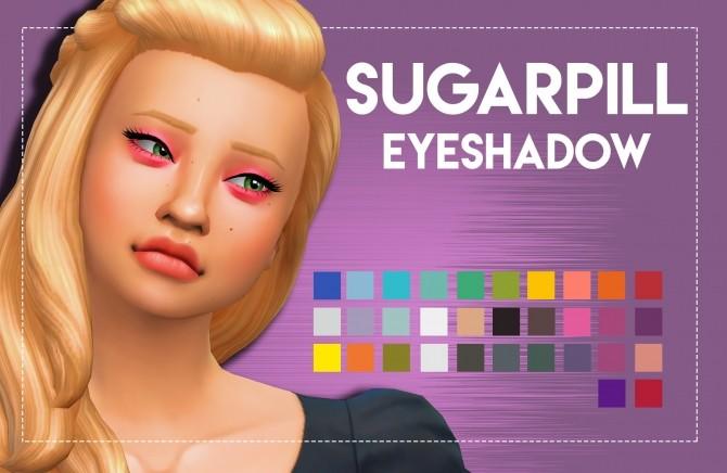 Sims 4 Sugarpill Inspired Eyeshadow by Weepingsimmer at SimsWorkshop