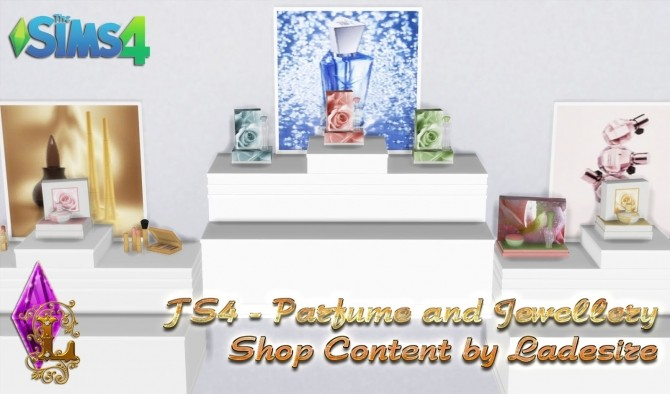 Parfume and Jewellery Shop Content at Ladesire image 12712 670x394 Sims 4 Updates