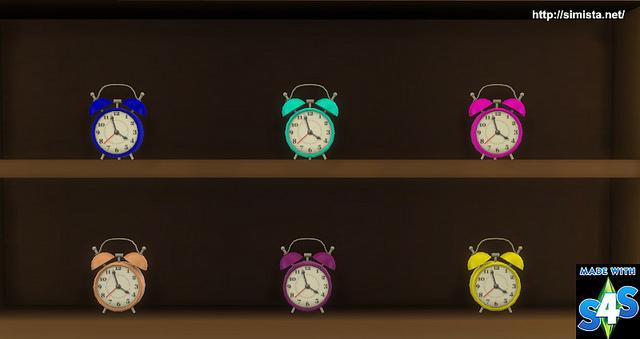 Sims 4 Tick Tock Clock at Simista