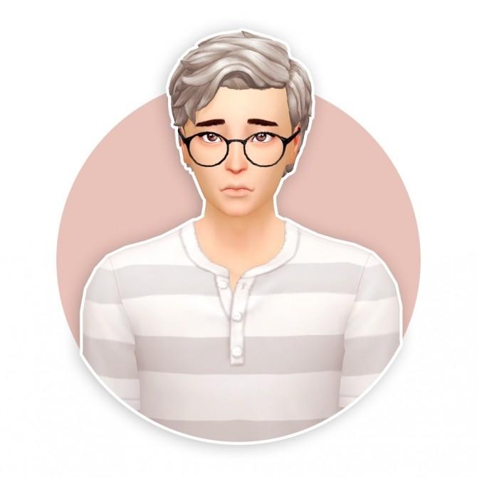 Sims 4 Cosmo hair recolour at Seven Sims