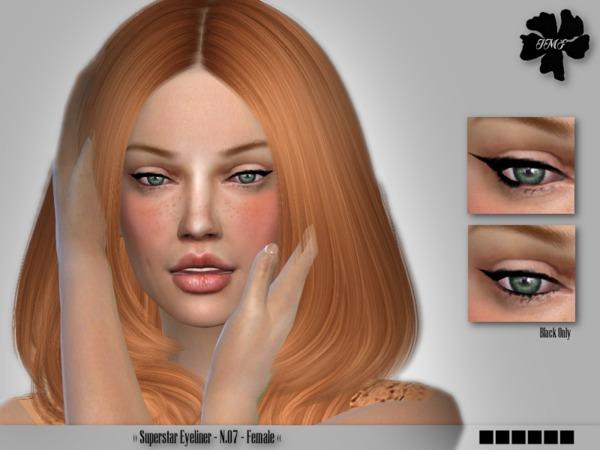 IMF Superstar Eyeliner N.07 by IzzieMcFire at TSR image 1328 Sims 4 Updates