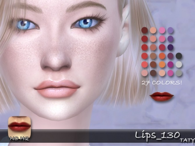 Sims 4 Lips 130 by Taty86 at SimsWorkshop