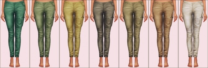 Samantha Jeans by Chisami converted at Elliesimple image 1333 670x220 Sims 4 Updates