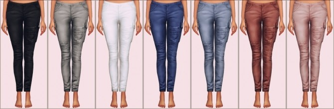 Samantha Jeans by Chisami converted at Elliesimple image 1343 670x220 Sims 4 Updates