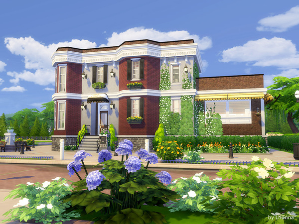 Sims 4 Old Brick Avenue 34 The Red Dwarf house by Lhonna at TSR