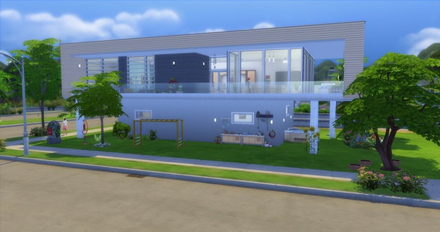 Sims 4 Bungalow by Meryane at Beauty Sims