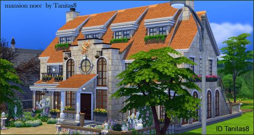 Sims 4 3 NOCC houses at Tanitas8 Sims