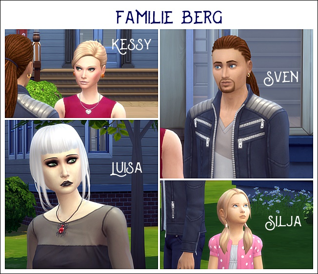 Sims 4 Berg family by Meryane at Beauty Sims