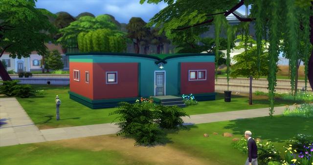 Sims 4 Starter house by Meryane at Beauty Sims