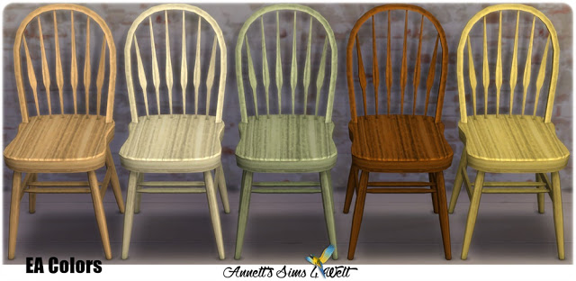 TS3 to TS4 Conversion Dining Room Set Country at Annett's Sims 4 Welt image 14513 Sims 4 Updates