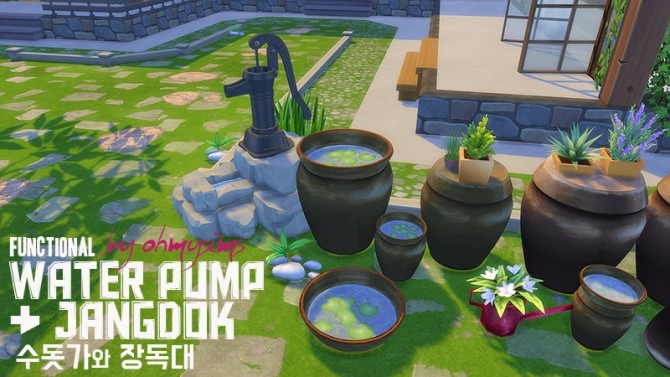 Functional Fountain Water Pump at Oh My Sims 4 image 1475 670x377 Sims 4 Updates