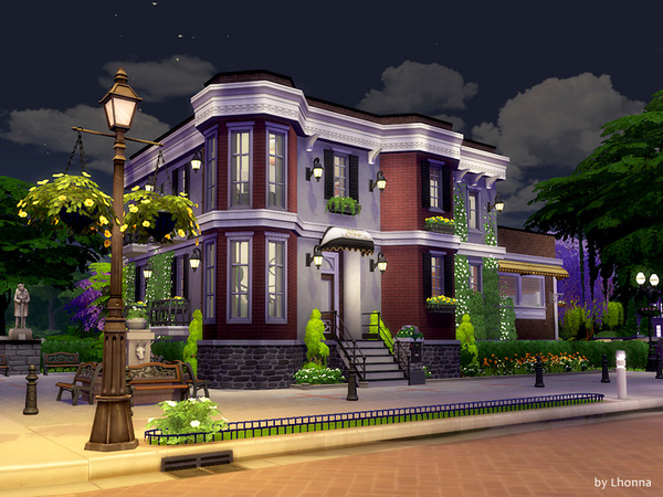 Old Brick Avenue 34 The Red Dwarf house by Lhonna at TSR image 1480 Sims 4 Updates