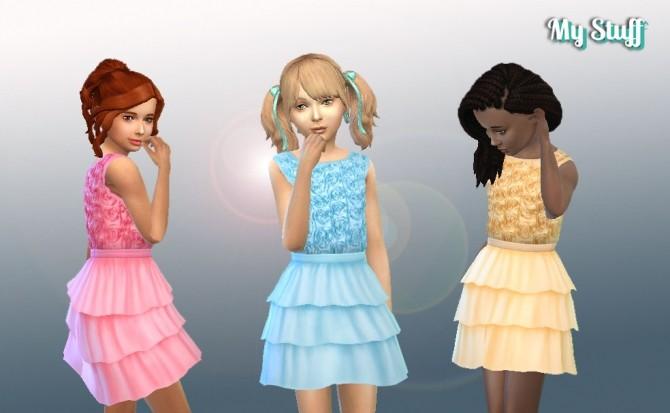 Roses Dress at My Stuff image 14810 670x413 Sims 4 Updates