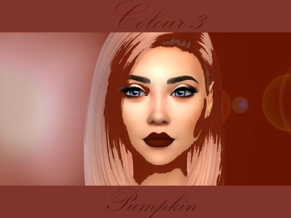 Sims 4 Falle Matte Lipsticks by PrimroseSmith at TSR