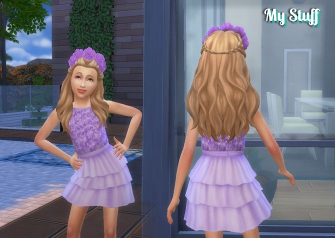 Roses Dress at My Stuff image 14911 670x476 Sims 4 Updates