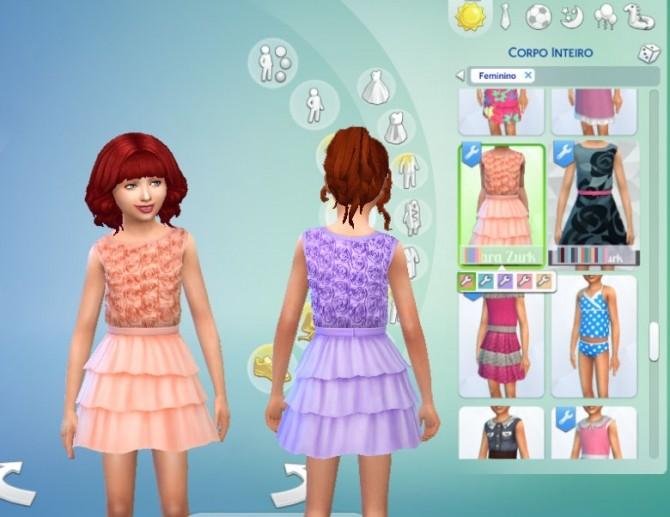 Roses Dress at My Stuff image 15011 670x517 Sims 4 Updates