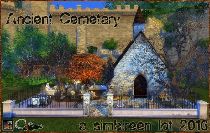 Sims 4 Ancient cemetary at Loverat Sims4
