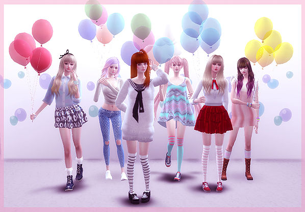 5 Balloon pose at A luckyday image 1571 Sims 4 Updates