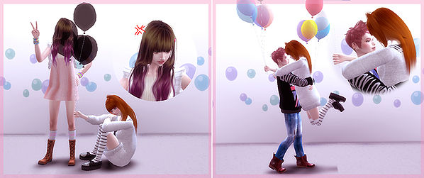 5 Balloon pose at A luckyday image 1581 Sims 4 Updates