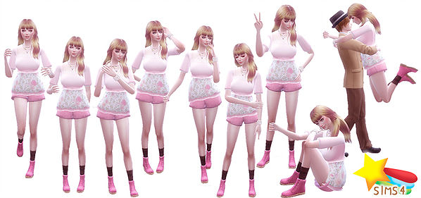 5 Balloon pose at A luckyday image 1591 Sims 4 Updates