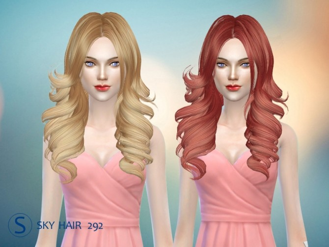 Sims 4 Skysims hair 292 (Pay) at Butterfly Sims