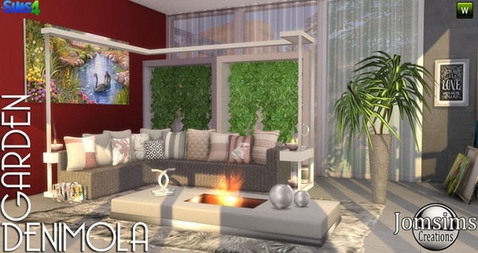 Denimola Garden at Jomsims Creations image 1598 670x355 Sims 4 Updates