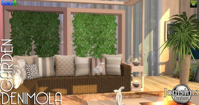 Denimola Garden at Jomsims Creations image 16210 670x355 Sims 4 Updates