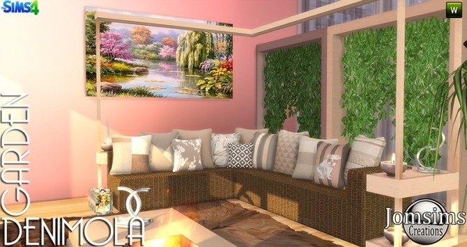 Denimola Garden at Jomsims Creations image 1636 670x355 Sims 4 Updates