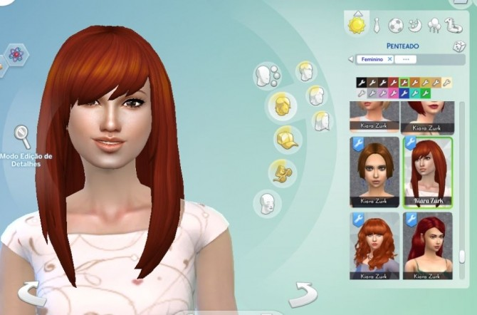 Sims 4 Helena Hairstyle at My Stuff