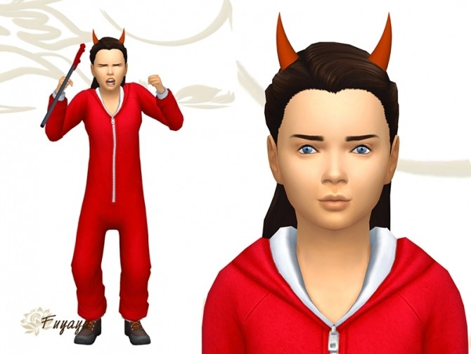 Little Devil Horns By Fuyaya At Sims Artists 187 Sims 4 Updates