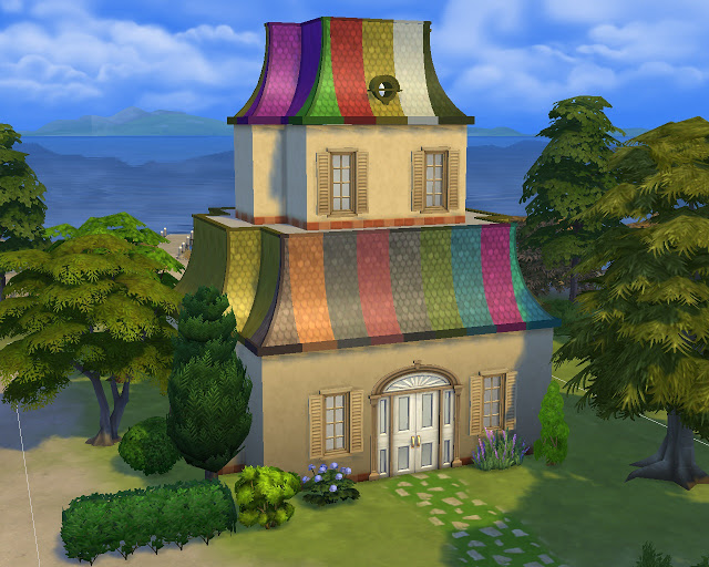 Roof Victorian at Mara45123 image 1682 Sims 4 Updates
