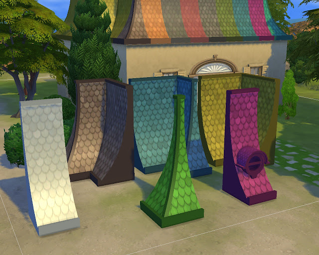Roof Victorian at Mara45123 image 1692 Sims 4 Updates