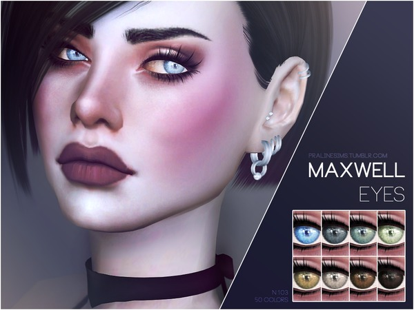 Maxwell Eyes N103 by Pralinesims at TSR image 1710 Sims 4 Updates