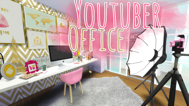 Youtuber Office at Mony Sims » Sims 4 Updates