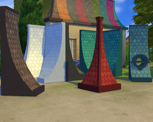 Roof Victorian at Mara45123 image 1714 Sims 4 Updates
