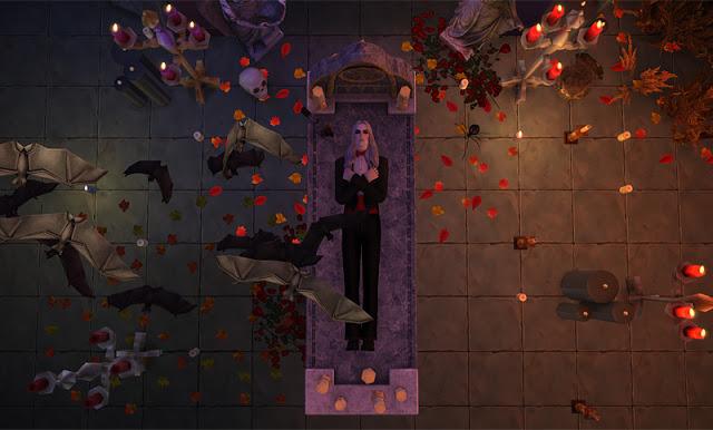 Vampire Altar Ts3 Conversions At Mara45123 187 Sims 4 Updates