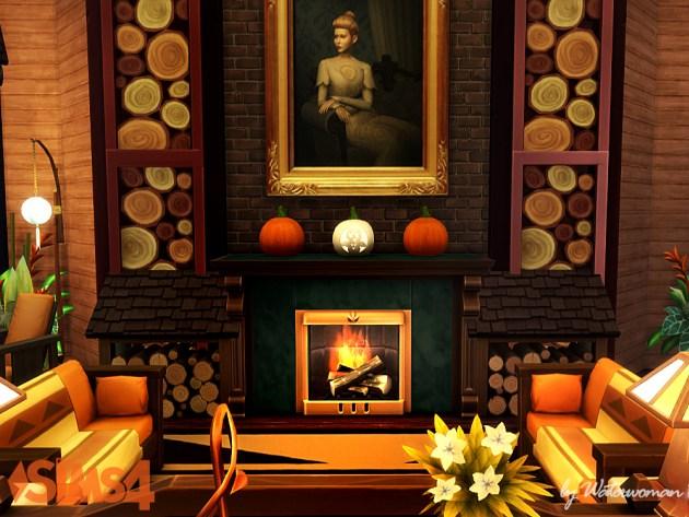 Pumpkin House by Waterwoman at Akisima image 1735 Sims 4 Updates