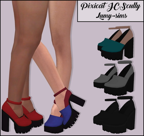 Pixicat JCScully Heels at Lumy Sims image 1738 Sims 4 Updates