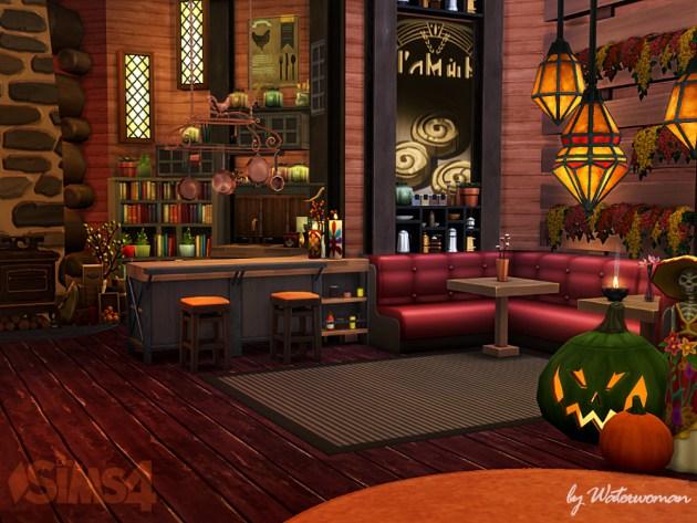 Pumpkin House by Waterwoman at Akisima image 1745 Sims 4 Updates