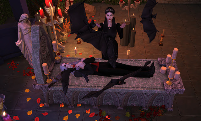 Vampire Altar Ts3 Conversions At Mara45123 187 Sims 4 Updates