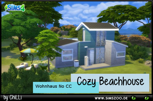 Cozy Beach house by ChiLLi at Blacky's Sims Zoo image 1783 Sims 4 Updates
